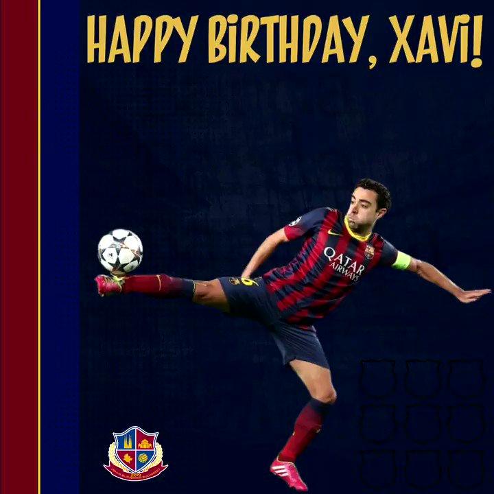 🎈🎂 La Multi Ani, Xavi! 🎈🎂 Happy birthday, Xavi! 🎈🎂 ¡Feliz cumpleaños, Xavi! 🎈🎂 Per molts anys, Xavi!   #ForçaBarça #fcbarcelonalegend #barça #penya #bucharest #romania #barçafans #fcbarcelonafans #xavi #legend
