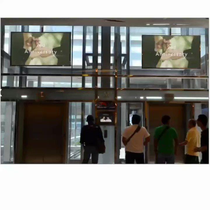 Replying to @MewGulf_Union: ขึ้นลิฟท์ อย่าลืมเงยหน้ามองน้า ☀️🌻  #MGUnionx1stProject  #หวานใจมิวกลัฟ
