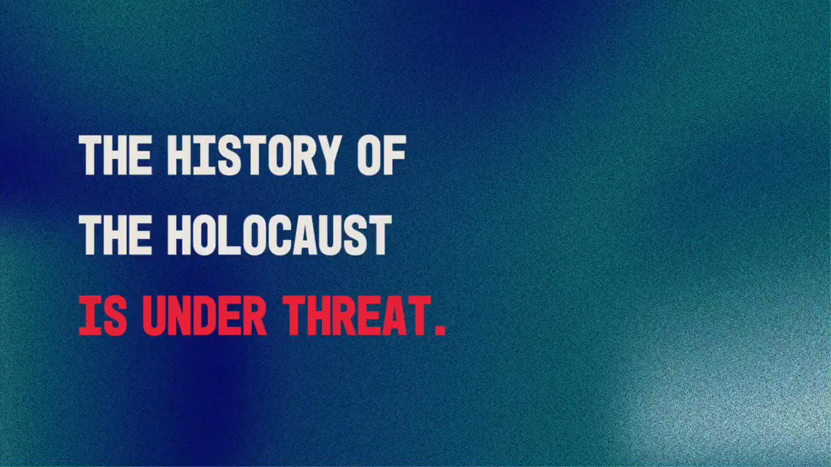 Honour the past. Safeguard the future. #ProtectTheFacts. Today, we are joining together with @EU_Commission, @UN and @UNESCO to take a stand against distortion of the Holocaust.
