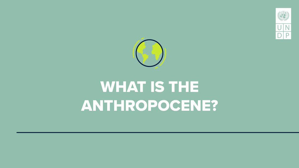 The Anthropocene, or the Age of Humans, is an unprecedented turning point in our planet's history. Our actions don't just impact #ClimateChange but life-sustaining planetary cycles & biodiversity. Register NOW for the Brussels launch of #HDR2020 on Jan 27: