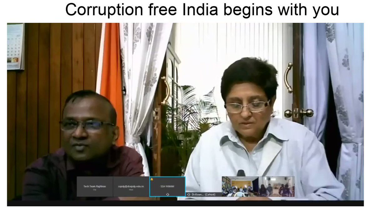 From the Q&A with students in Puducherry on Republic Day eve virtual meet.