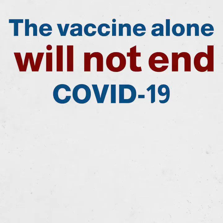 Even when #COVID19 vaccine becomes available in Lebanon, this does not signify the end of the COVID-19 pandemic.  We must continue to protect each other from COVID-19 by keeping distance, wearing a mask and regularly washing our hands with soap. #TimeToAbide