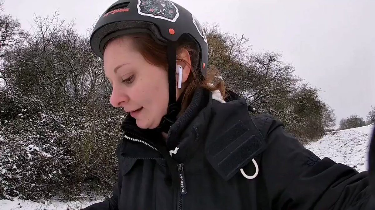 Standing on my @Axiski board, riding the snowy paths 🏂❄️  #axiski #fun #snow #adventure