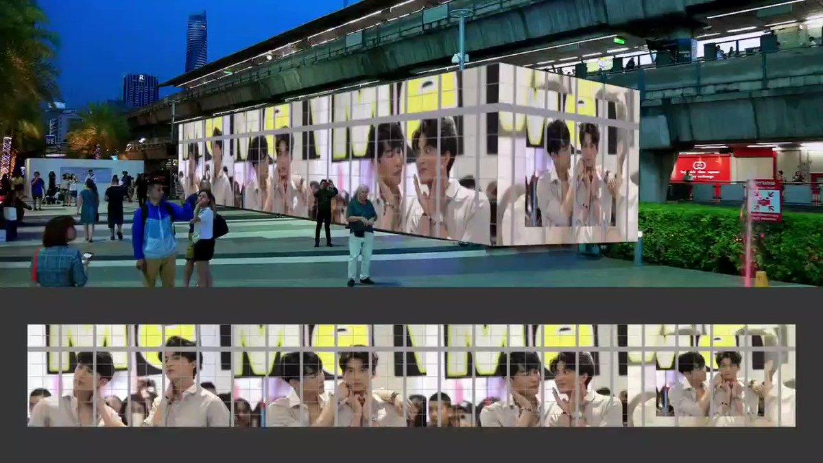 Your My World ☀️🌻 เริ่มพรุ่งนี้วันแรก แล้วพบกันนะคะ ♥️ 26 Jan - 9 Feb น้า   Siam Paragon Siam Center  Siam Discovery   #MGUnionx1stProject  #หวานใจมิวกลัฟ