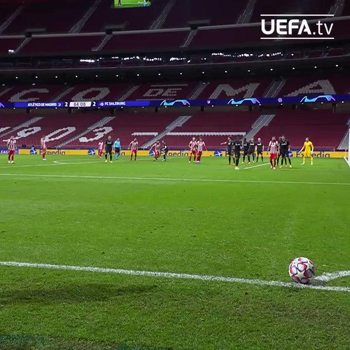 💪 Líder sólido en Liga y con las pilas 🔋🔋 cargadas para afrontar la Champions League.  #UCL | @Atleti