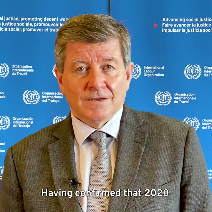 Our new Monitor shows #COVID's impact on global labour markets has led to worst crisis since 1930s.  No region or country can get out of this alone and int. community needs to help low & middle income countries.  @ILO will push for human-centred approach for a resilient recovery.