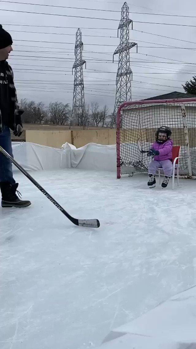 Replying to @CanadaBarstool: Goalie mentality: ✅