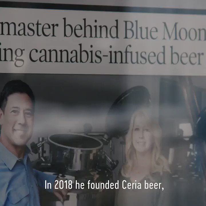 Image for the Tweet beginning: @ceriabrewing produces the only #marijuana