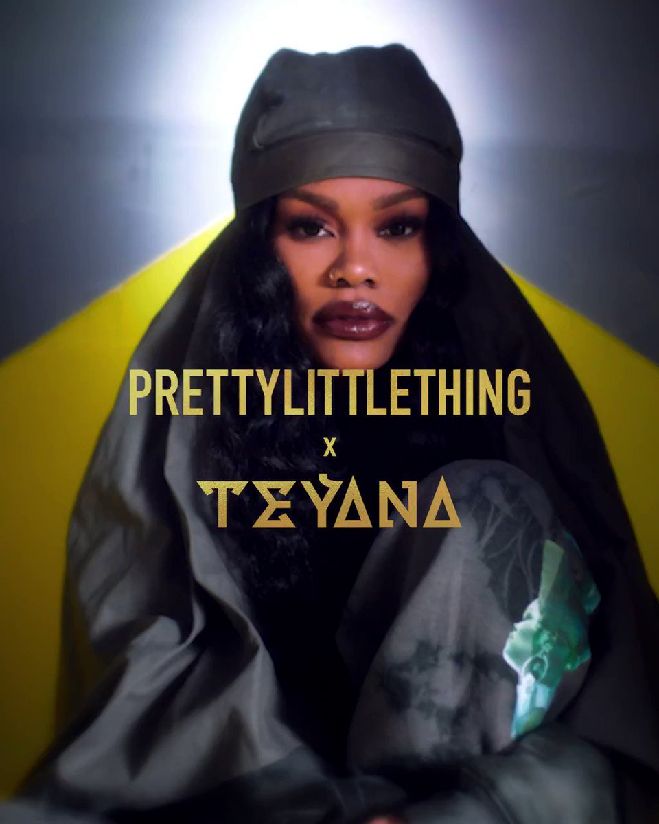 ⚡️💄 Teyana Taylor 💄⚡ Introducing our Creative Director @TEYANATAYLOR with an exclusive collection designed by the Harlem born musician herself 💫👉bit.ly/2M3abG7