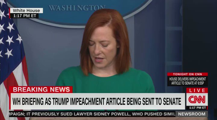 ".@PressSec says that the Biden admin will not rollback travel restrictions implemented by the previous admin for the UK, Ireland, Brazil, and South Africa:  ""This isn't the time to be lifting restrictions on international travel."" https://t.co/1fNs996a3H"