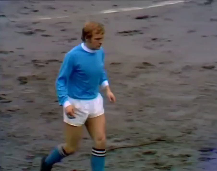 On a muddy Maine Road  (1970) #mcfc vs. #whufc