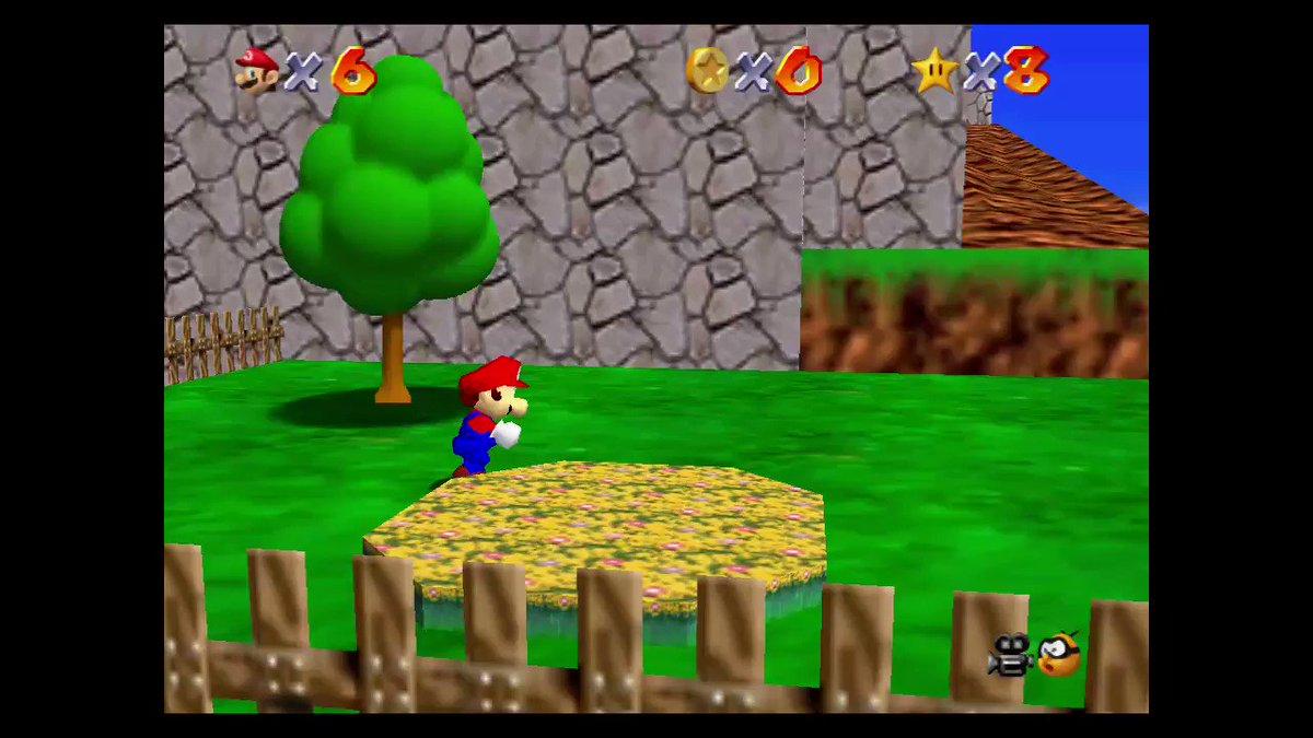 Un disparo perfecto :)!! #SuperMario3DAllStars #NintendoSwitch