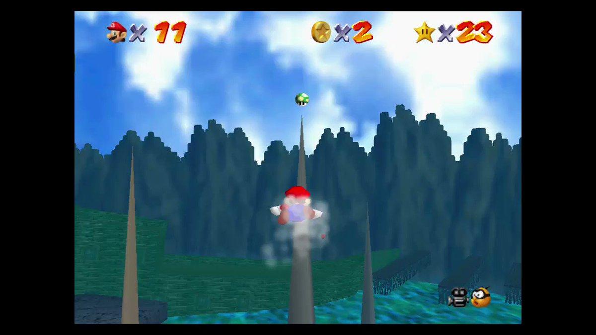 Epic dismount. #SuperMario3DAllStars #NintendoSwitch