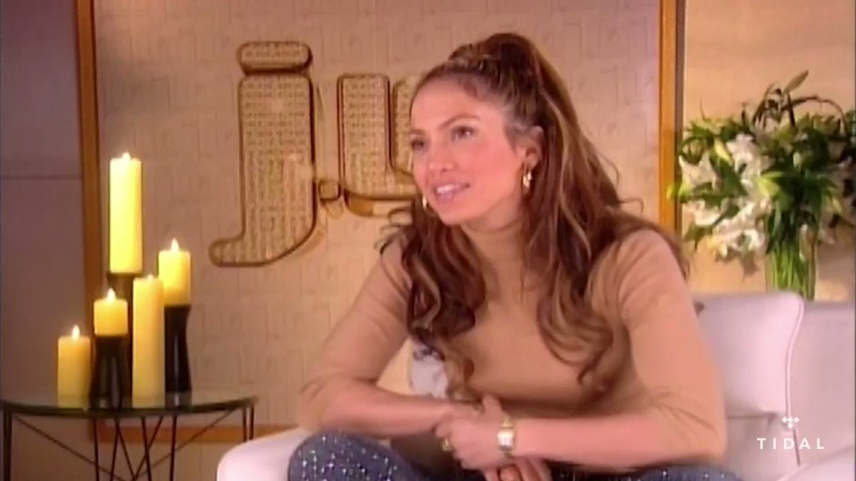"""Replying to @TIDAL: @JLo speaks on """"Love Don't Cost A Thing.""""  Watch on TIDAL:"""