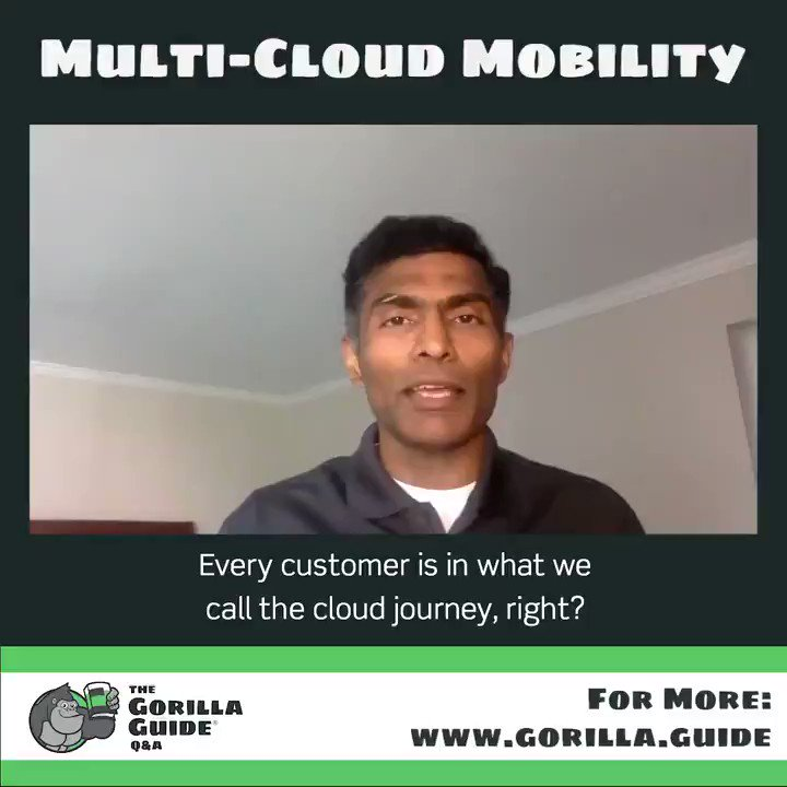 Learn how to move applications between clouds in this recent @actualtechmedia Gorilla Guide Q&A with @SubbiahSS! He sits down with @jdgreen to explain how HYCU helps do it! For the full show >>  #Bestof2020