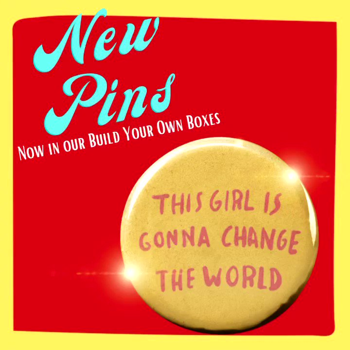 Know a girl who should wear this pin? New in our build your own boxes, along with lots of other new goodies!❤️ let's build one another up!🥰  #MondayVibes #love #KindnessMatters @3rdHourTODAY @wfaagmt #smallbusiness #MotivationMonday #inspirational