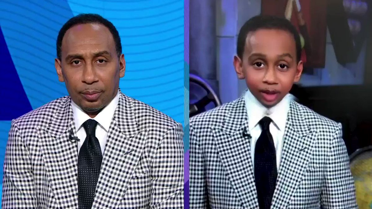I'm SICK of getting lectured by a BABY.   Stream Stephen A's World on ESPN+: