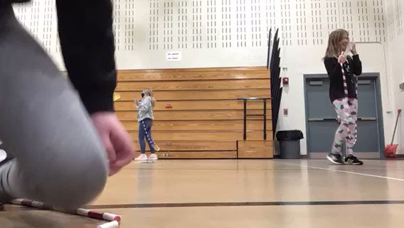 I love this 5th grader using iMovie to practice her jump rope skills. #Proud2BMIS #AppleTeacher #everyonecancreate  #gcscpride  #GCInnovator @loriannkatz @megancthompson .