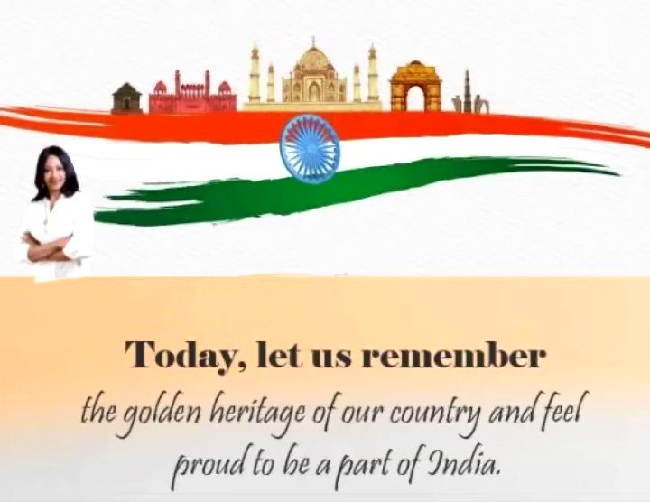 Let's honor those who have made us proud and celebrate the spirit of a free nation.  : Happy Republic Day! : #jaihind #merabharatmahan #republicdayindia #republicday2021  #newindiafitindia #fitindiamovement #fitindiamovementambassador #wanithaashok
