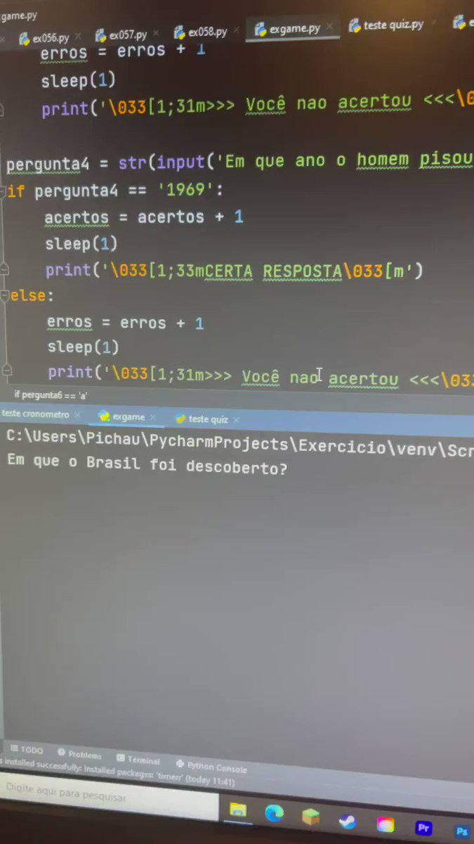 Replying to @celsoportiolli: Estou aprendendo a programar