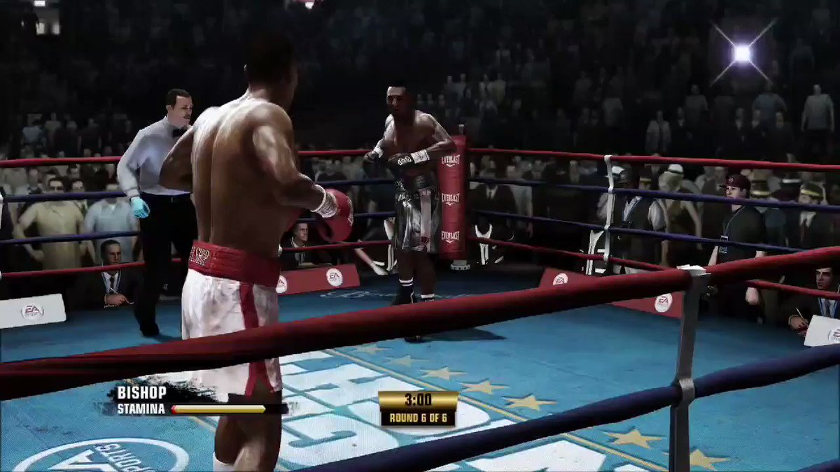 Fight Night Champion looks great on the #XboxSeriesX POW right in the kisser!  #Xbox360 #XboxGamePassUltimate