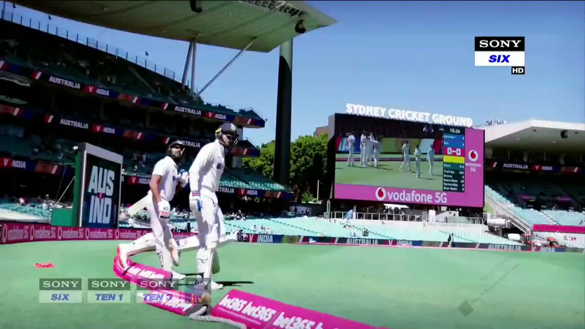 To relive the thrills. A series that will never be forgotten. @SonySportsIndia @FoxCricket. Wonderfully put together by the young team at Sony. This little clip is in my library