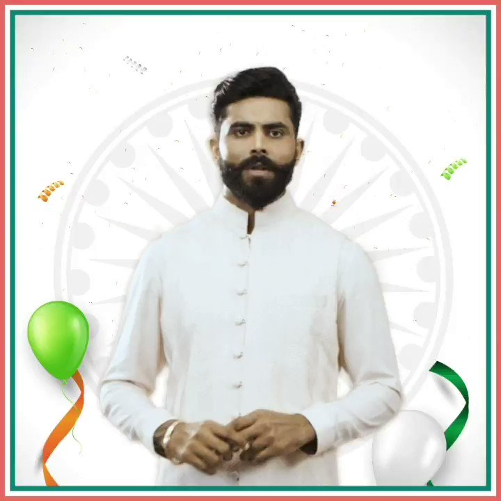 BharatPe wishes you all a very Happy #RepublicDay2021 #EkBharatEkQR #DeshKaQR #happyrepublicday #republicday2021 #EkBharatEkQR #BharatPe #RavindraJadeja #newindia #DigitalIndia