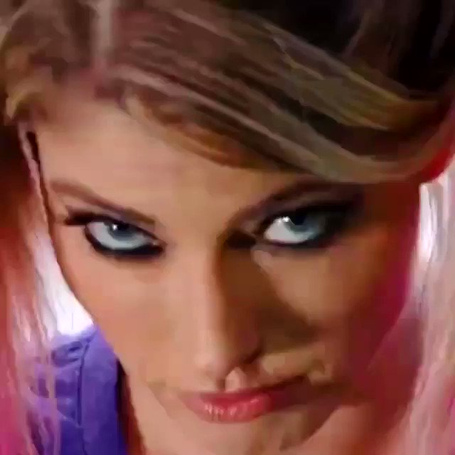 This is the @AlexaBliss_WWE I've been waiting for all along #WWERaw