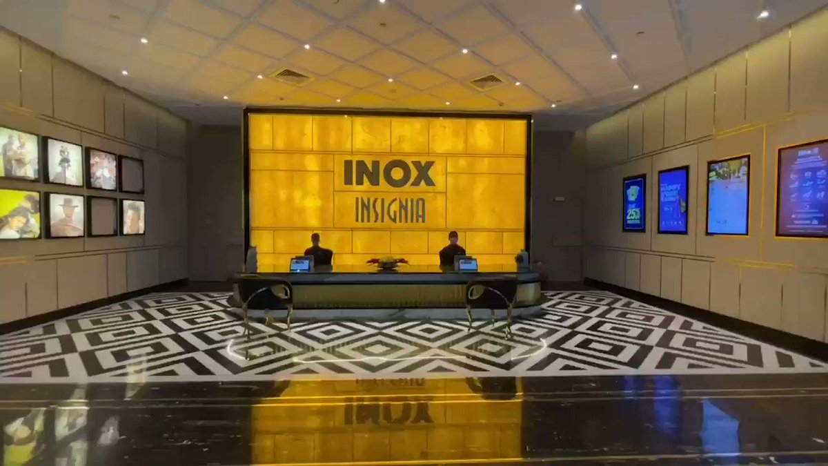 .@INOXMovies opens its 4th multiplex in Jan. This time, it's Thane's 1st ever luxury cinema destination, #INOX #INSIGNIA at RMall Thane. A 4-screen cinema adorned with 7 star grandeur! An experience, that would make you fall in love with the movies! #CinemasAreBack