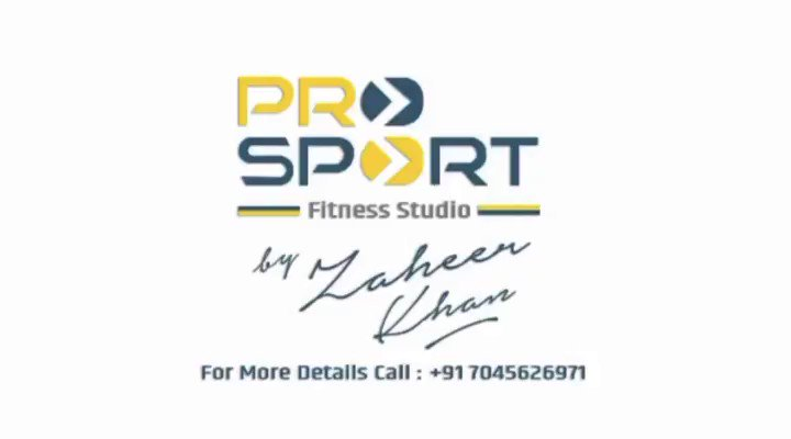 Zak is back! And so is #ProSport! Book your spots now 👊🏽 @ImZaheer