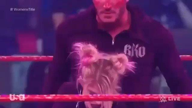 Holy Shit guys! Rko Outta Nowhere #WWERaw 🐍😈☠🔥🔥🔥