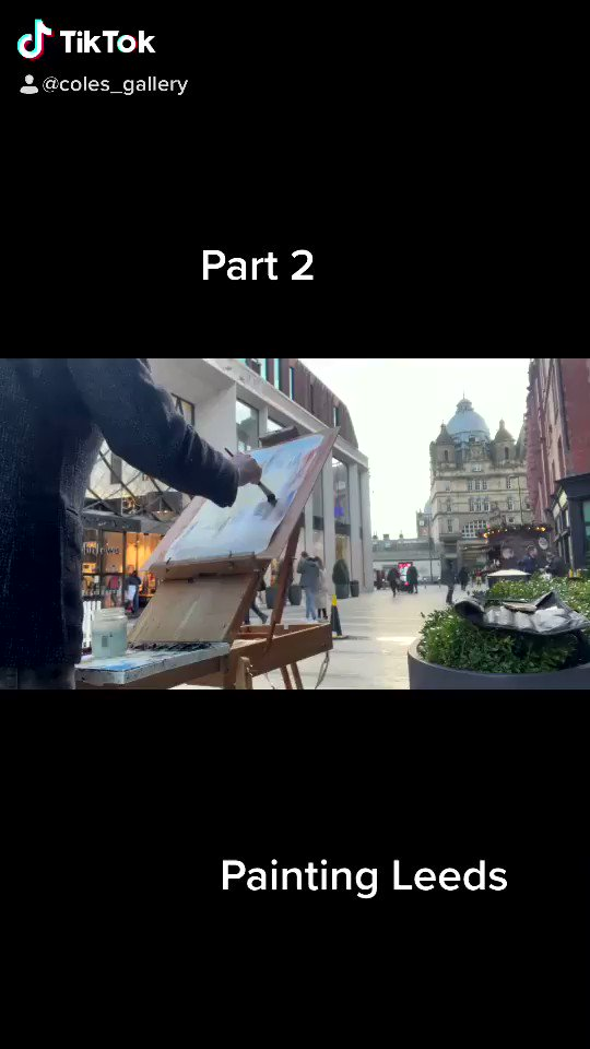 painting our galleries building, the beautiful Leeds Kirkgate Market @leedsmarket Like or send us an email to join our mailing list. colesgallery@gmail.com. You will see our new works and what's for sale at the gallery. #painting #enpleinair #art #leedslife #leedsartists