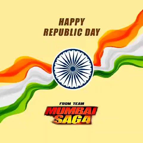 Team #MumbaiSaga wishes everyone a Happy #RepublicDay 🇮🇳    @TheJohnAbraham @emraanhashmi @_SanjayGupta #BhushanKumar @Tseries #WhiteFeatherFilms @MsKajalAggarwal @prateikbabbar @manjrekarmahesh   #HappyRepublicDay2021 #गणतंत्र_दिवस #JaiHind #India