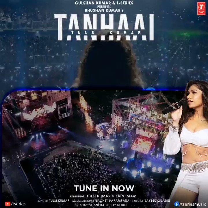 #Tanhaai, one of the most power-packed compositions sung by the one and only Tulsi Kumar hits 80M+ views on YouTube!      #BhushanKumar @TulsikumarTK @zainimam01 @SachetParampara @SayeedQuadri2 @snehasshetty @EricnPillai @bosemeghdeep