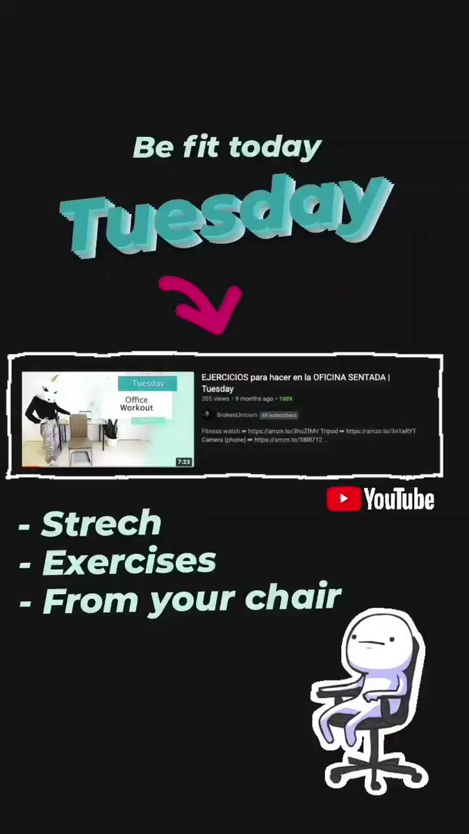 Your daily exercises--> Tuesday   #exercisesathome #homeworkout #workouts #tuesdayvibe #easyexercises #deportefacil