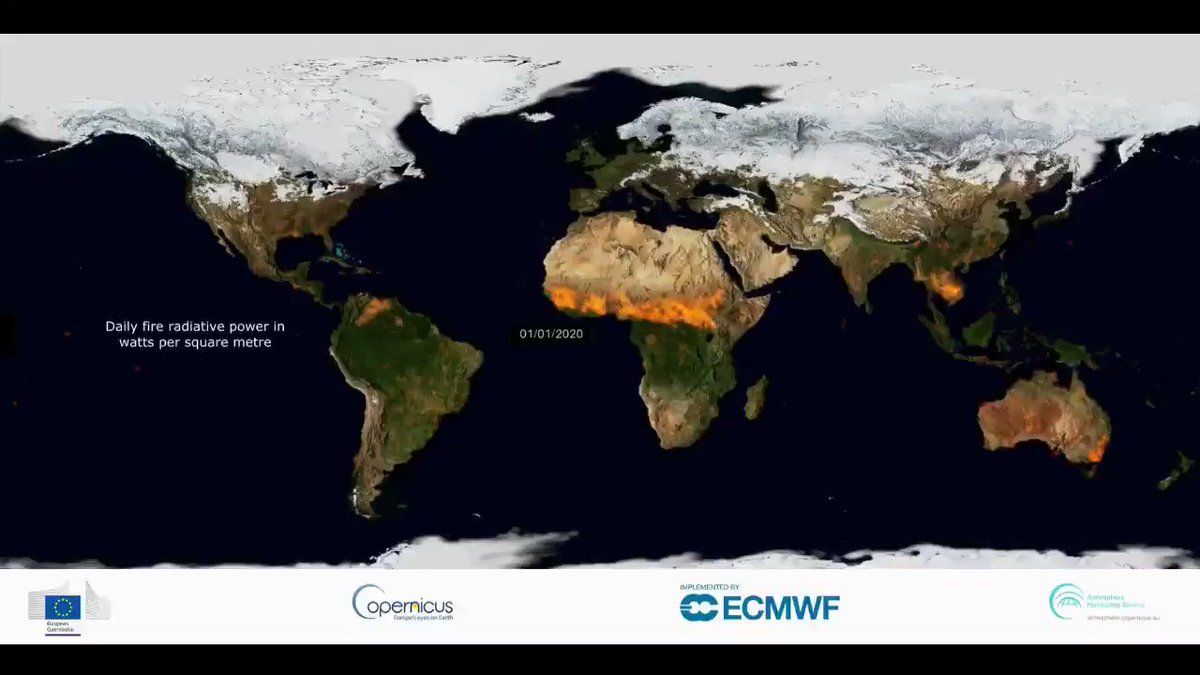 Image for the Tweet beginning: 🔥Wildfires were in the news