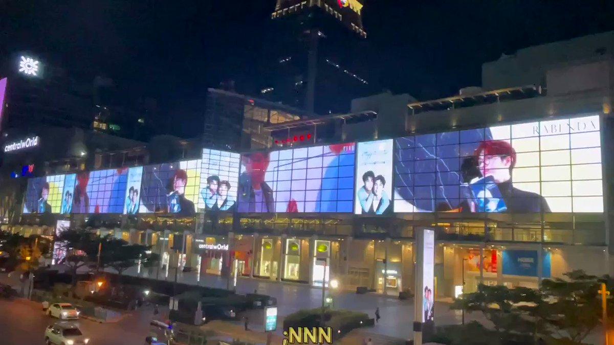 (9) @MewGulf_ChinaFC  #2yearsWithMewGulf  ;Central World จอยาวสุดปังมาแล้วว ยิ่งใหญ่เกรียงไกรมิวกลัฟ!!!!!  #MewGulf2Years2gether