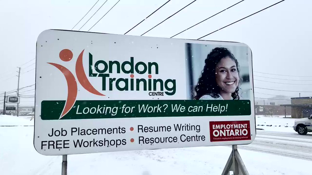 Yup #Winter is back. And we're here to help you find work, new skills or a new career. #Canada  @ESC_network #ldnont