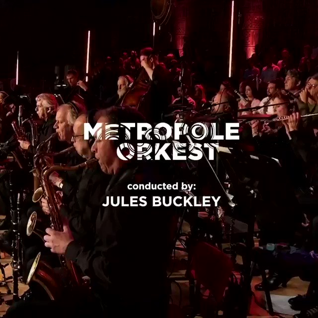 Our concert with @julesbuckleymusic and @metropoleorkest  will premiere tomorrow On @metropoleorkest Facebook ✨⚡️✨  Are you ready?