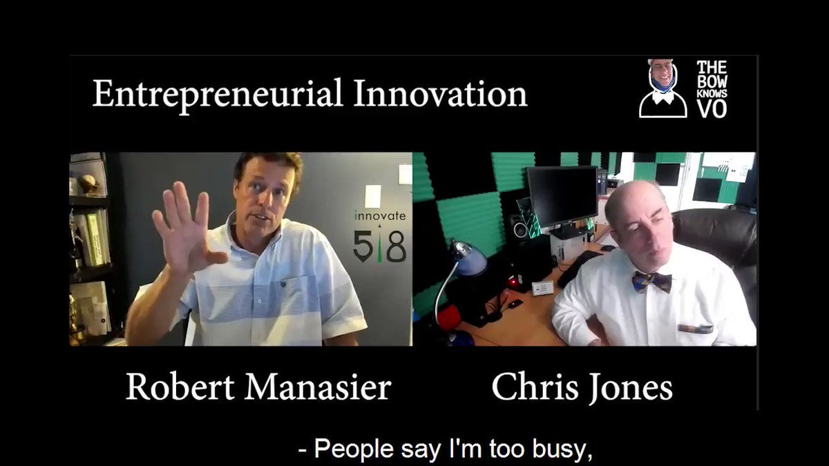 Did you just say you were too busy?  There's two ways to interpret that. One is complaining about having too much on your plate.  @RobertManasier has some ideas on this..   Full Discussion Soon!   #smallbiz #thebowknowsvo  #innovation #innovate518💡 #tuesdaythoughts