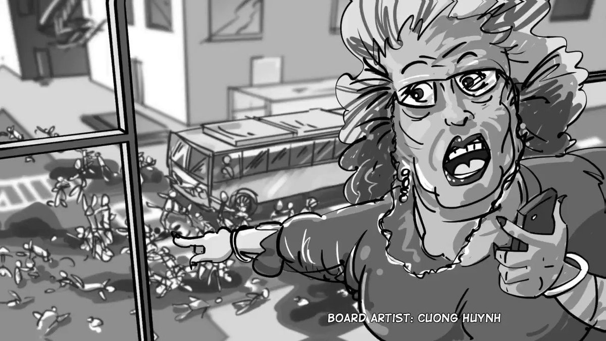 Video clip: Shot 24 - Old Lady calling for help on cell phone. #animatics #makingmovie #makingfilm #moviemaking #storyboard #artist #storyboarding #storyboards #drawing #drawings #films #filmdirector #director #filmcrew #filmmaking #filmmaker #preproduction #filmproduction  