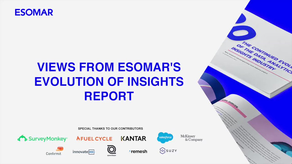 """SurveyMonkey's @tomeghale provides his DIY insights in an interview with @ESOMAR, """"People have always needed to collect feedback from one audience or another but now that need is even more relevant, and DIY tools give them a great way to do that."""""""