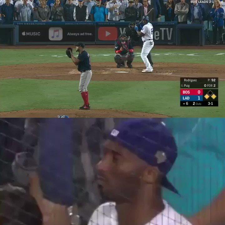Kobe's reaction to Puig's homer was legendary. ❤️
