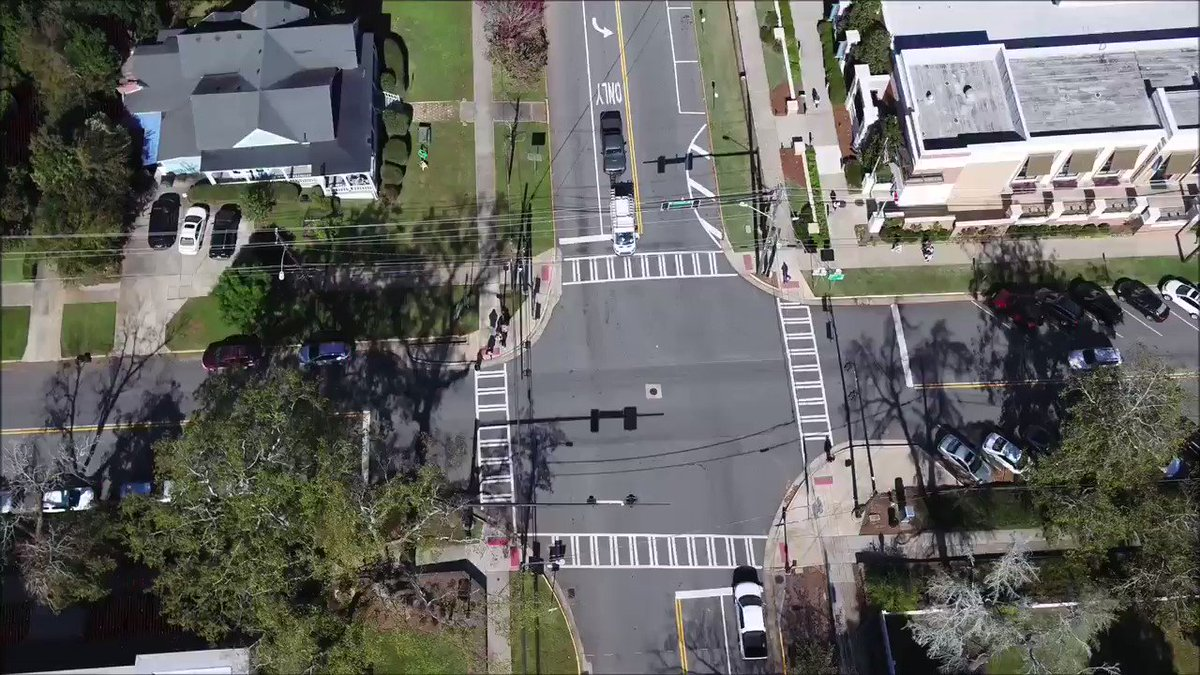 Image for the Tweet beginning: @GADeptofTrans safety improvements @GeorgiaCollege main