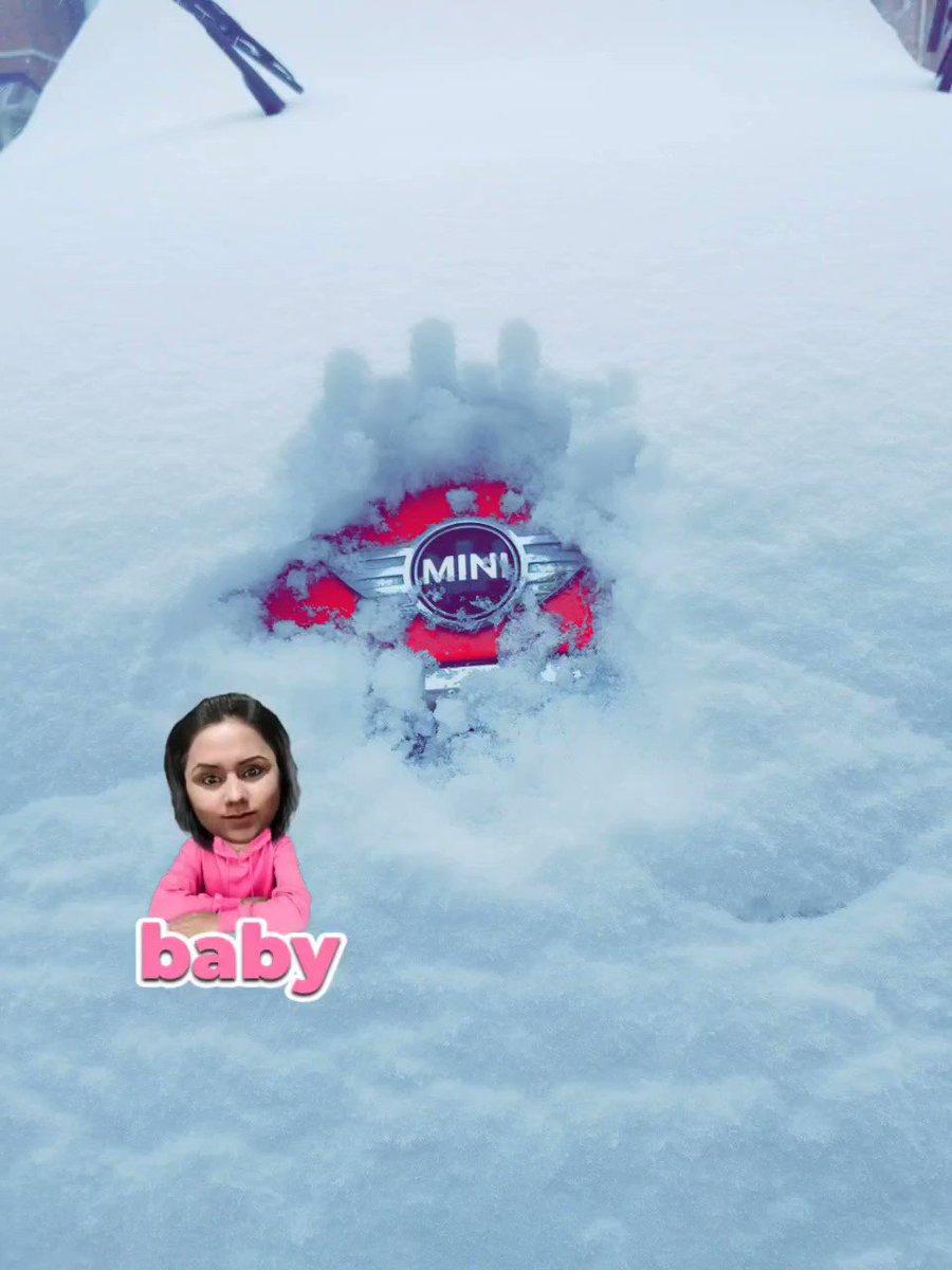 #mybaby #canadianMini #minicooper #snowday #ONStorm