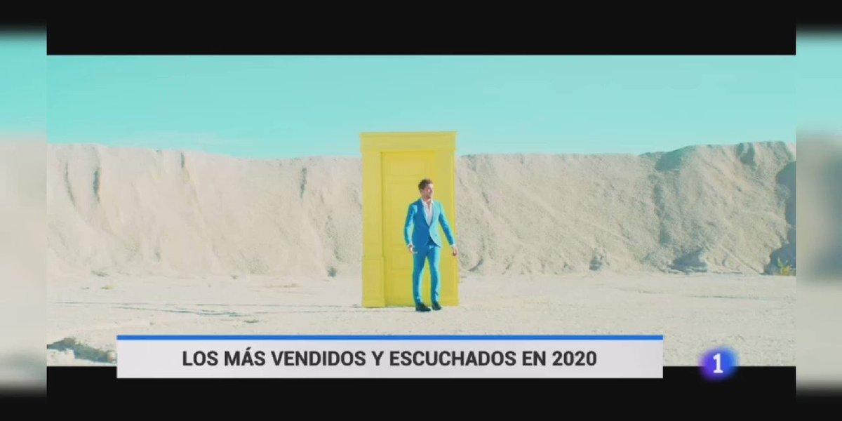 Replying to @agenda_db: .@davidbisbal artista español con más ventas y escuchas en el 2020 vía @rtvenoticias