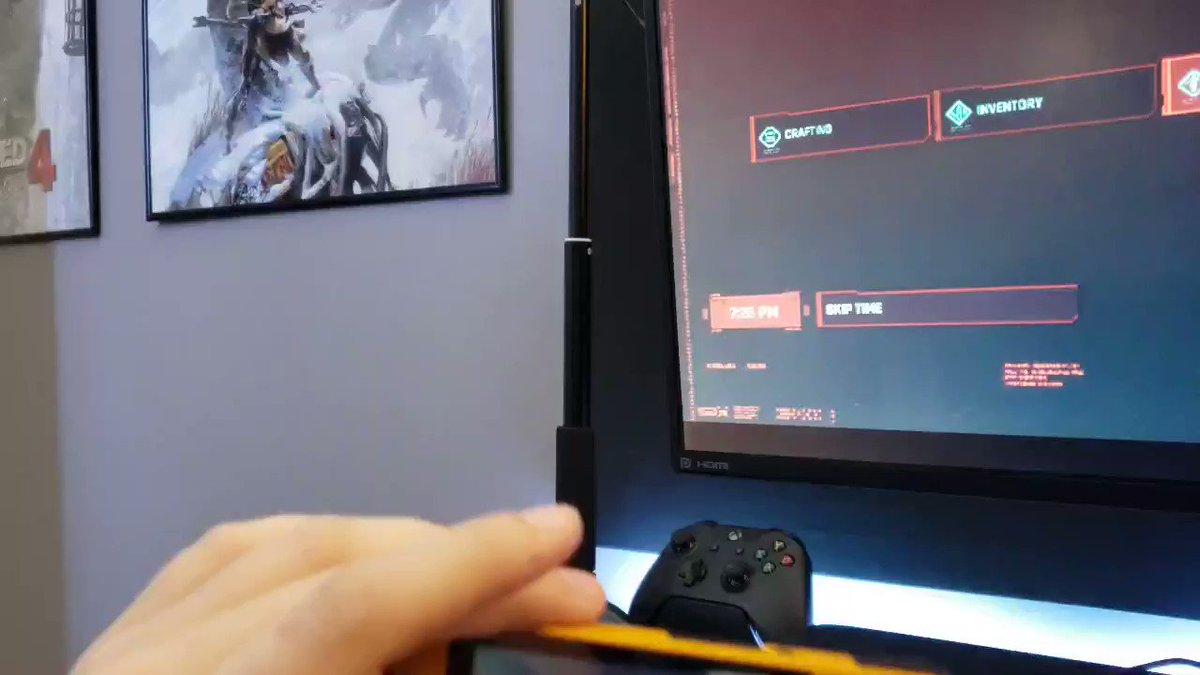 AnthonyCSN - Tiny Retroid remote play!!! Not really what I got this for but still cool it can do it!!! #Retroid