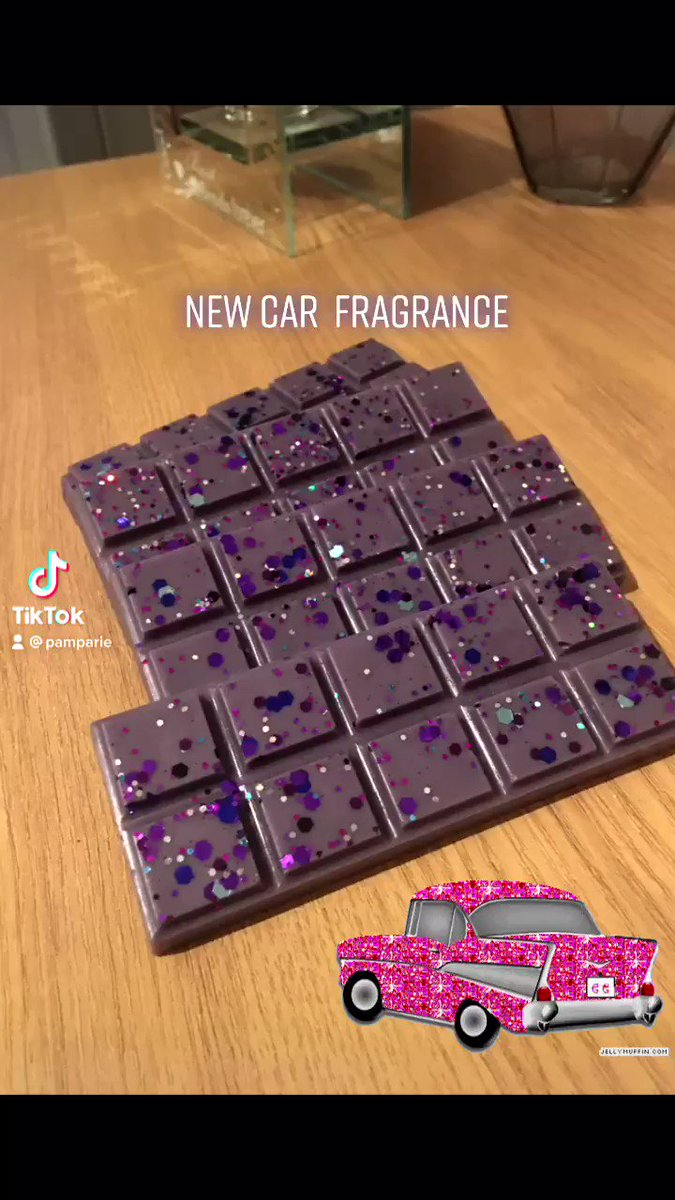 New car fragranced wax melt #waxmelt #waxmeltaddict #fragrance  #fragrances #cars #newcar #scents #homade #gifts #fyp