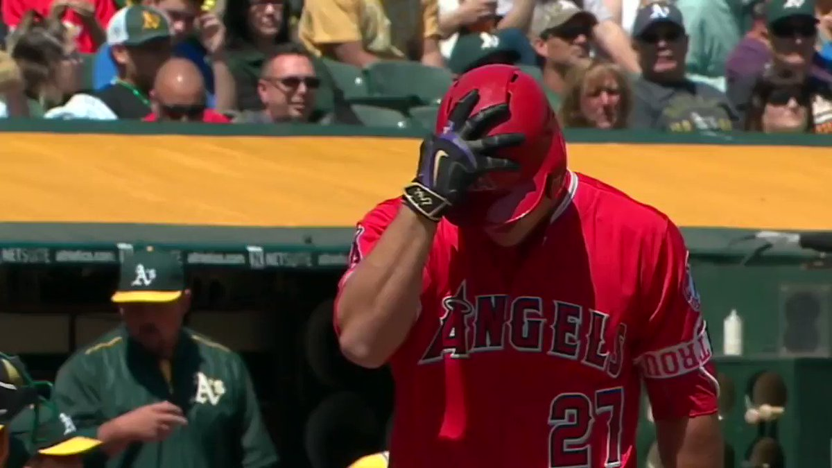 In 2016, Mike Trout wore purple and gold batting gloves to honor Kobe Bryant's final game.  He subsequently went 3-for-5 with a nice catch in the outfield.