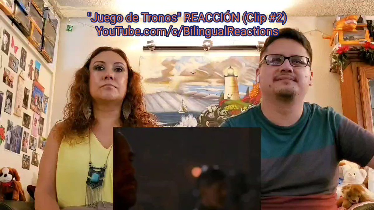 8th clip of #GameofThrones #REACTION ➡️  ⬅️ from our upload for S2 E9 on #YouTube!  #BilingualReactions #ReaccionesBilingues #GOT #JuegodeTronos #WarnerBros #WarnerBrosPictures #TyrionLannister #SerDavosSeaworth #REACT #YouTubeChannel #Youtuber #HBO #HBOMax